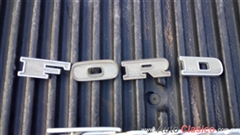 LETRAS COFRE ORIGINALES FORD PICK-UP 1967-1969