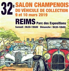 Más información de 32e Salon Champenois Du Véhicule de Collection