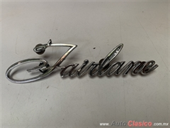 FORD FAIRLANE 1968 LETRA ORIGINAL