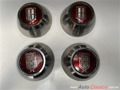 FORD LTD , CROWN VICTORIA  , GRAND MARQUIS 1980 A 1987 TAPONES DE TURBINA CHICOS