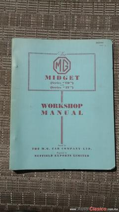 MG, MANUAL DE MANTENIMIENTO,Serie TD,TF