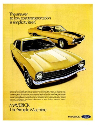 Ford Maverick | 1971 Ford Maverick