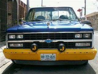| chevrolet cheyenne 86 modificada
