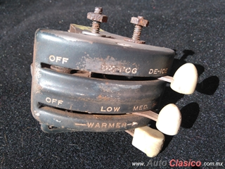 Control Switch Defroster Aire Chevrolet Bel Air 1949 1950