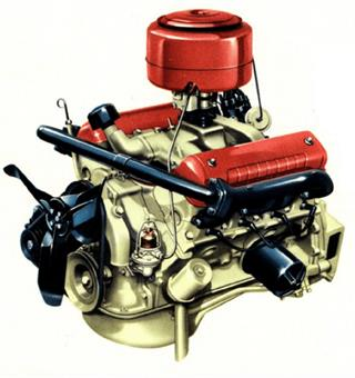 Motor Ford Y-Block OHV