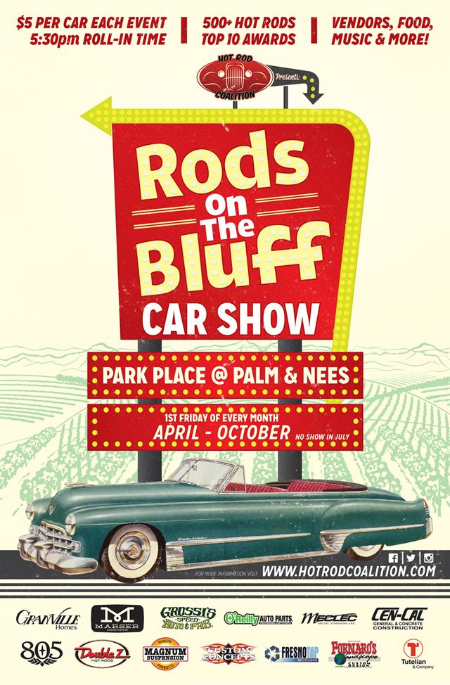 Rods on the Bluff October 2018