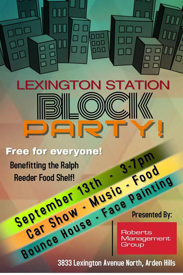 3rd Annual Lexington Station Block Party