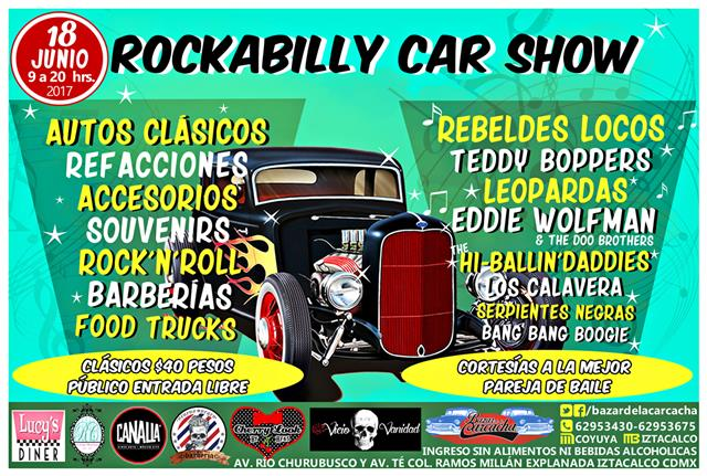 Rockabilly Car Show Iztacalco Junio 2017