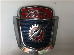 FORD PICK UP  F100 1953 A 1956 EMBLEMA ORIGINAL DE COFRE