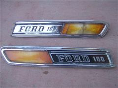 Emblemas Ford  pick up F100 1968-1972