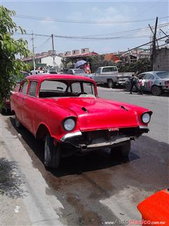 Chevy bel air 57 en partes