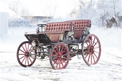 The 1896 Hybrid Phaeton Armstrong Gasoline and Electric