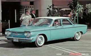 Corvair GM's rear-engined wonder