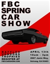 First Baptist Church Spring Car Show 2019