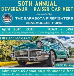 50th Annual Devereaux - Kaiser Car Meet