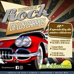 Rock of the Cars. 12th Exhibition of Classic Cars