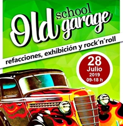 Bazar De La Carcacha Old School Garage Julio 2019