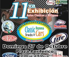 11th Vintage and Classic Cars Exhibition - Reynosa