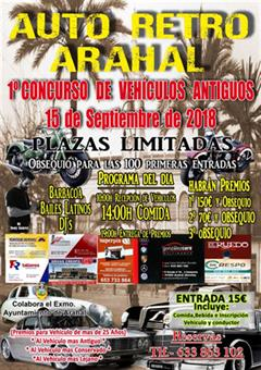 1st Vintage Vehicles Contest in Arahal