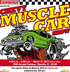 Eckler's Chevy Muscle Car Show 2019