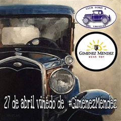 Club Ford A del Parahuay Wine Day 2019 - Giménez Méndez