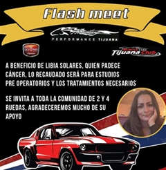 Flash Meet Con Causa Tijuana 2019