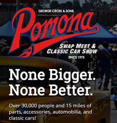 Pomona Swap Meet & Classic Car Show, December 2018