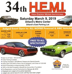 34th Annual HEMI Show Phoenix