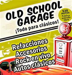 Old School Garage September 2018