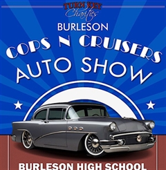 2019 Burleson Cops N Cruisers Car Show