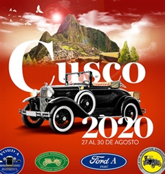 II Latin American Meeting Ford A XXIV Andean Rally