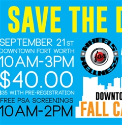 Downtown Fort Worth Fall Benefit Car Show 2019