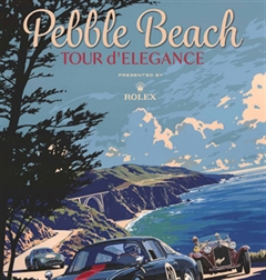 2019 Pebble Beach Tour D'elegance