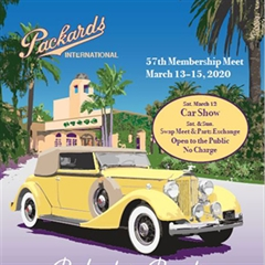 Packards in Paradise Concours - Newport Beach 2002