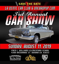 3rd Annual Car Show Oxnard 2019