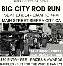 Sierra City's Original Big City Rod Run 2019