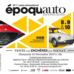 Époqu'Auto 2019 Officiel - 41st International Exhibition