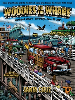 25th Annual Woodies on the Wharf