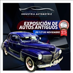 International Forum of the Automotive Industry 2019 - Exhibition of Antique Cars