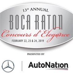 13th annual Boca Raton Concours d'Elegance