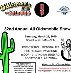 32nd Annual Arizona All Oldsmobile Show