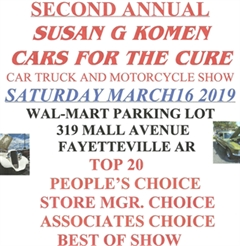 Second Annual Susan Komen Cars for the Cure Show