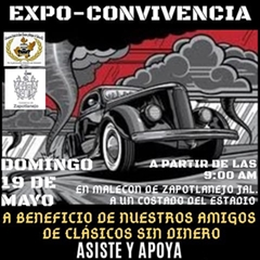 Expo-Convivence State Association of Classic and Antique Cars of Jalisco 2019