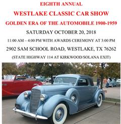 Eighth Anual Westlake Classic Car Show