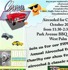 5th Annual Aircooled for Charity Car Show