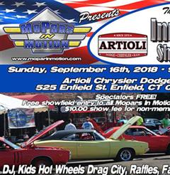 Mopars In Motion and Artioli Chrysler, Dodge Present The 10th Annual Innovators Show n Shine