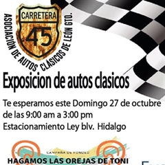 Association of Classic Cars of León, Exhibition of Classic Cars 2019