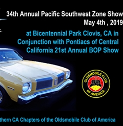 34rd Annual Olds Club of America SouthWest Zone Meet